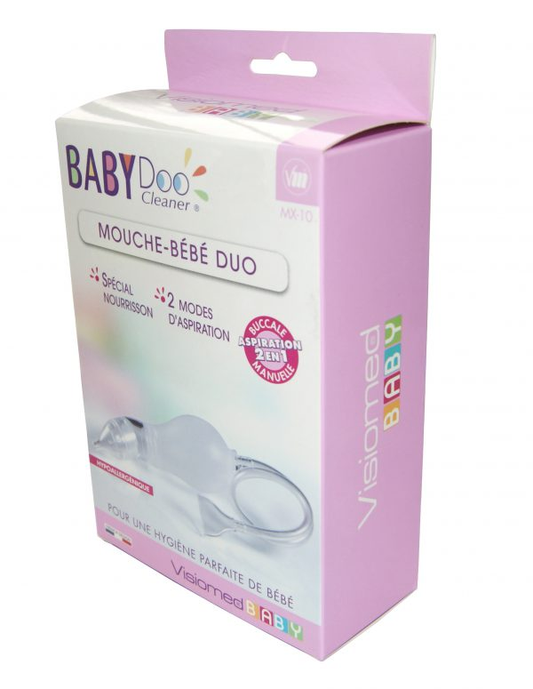 Odciągacz kataru BabyDoo 2w1 dla dzieci VISIOMED 3